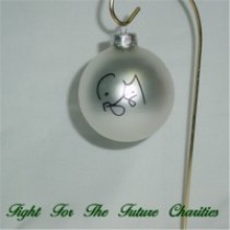 FFF Charities - Craig Morgan - silver Christmas ornament #2