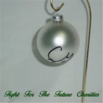 FFF Charities - Craig Morgan - silver Christmas ornament #5