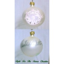 FFF Charities - Daniel Lee Martin - white classic Christmas ornament #3