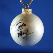 FFF Charities - Eddie Money - white Christmas ornament #4