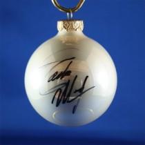 FFF Charities - Eddie Money - white Christmas ornament #5