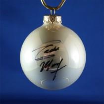 FFF Charities - Eddie Money - white Christmas ornament #9