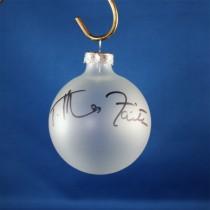 FFF Charities - Tim McGraw & Faith Hill - Clear Christmas ornament #1