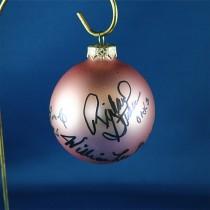 FFF Charities - Oak Ridge Boys - rose Christmas ornament #1