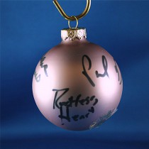 FFF Charities - Restless Heart - Lavendar Christmas ornament #3