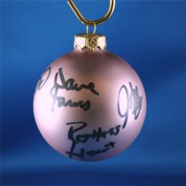 FFF Charities - Restless Heart - Lavendar Christmas ornament #4