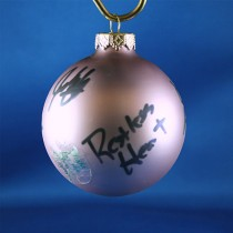 FFF Charities - Restless Heart - Lavendar Christmas ornament #6