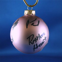 FFF Charities - Restless Heart - Lavendar Christmas ornament #8