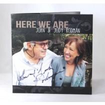 "FFF Charities - Judy & John Rodman - cd ""Here We Are"""