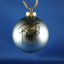 FFF Charities - Ty Williams - blue Christmas ornament #1