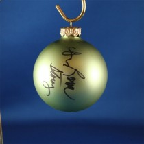 FFF Charities - Dr. Ralph Stanley & Ralph II - green Christmas ornament #6