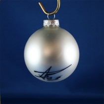 FFF Charities - Aaron Tippin - white Christmas ornament #1