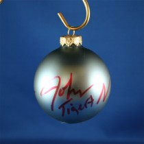 FFF Charities - John Tigert - blue Christmas ornament #2