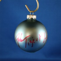 FFF Charities - John Tigert - blue Christmas ornament #3