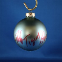 FFF Charities - John Tigert - blue Christmas ornament #4