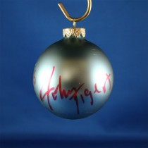 FFF Charities - John Tigert - blue Christmas ornament #6