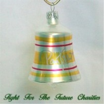 FFF Charities - Pam Tillis - Bradford bell ornament #2