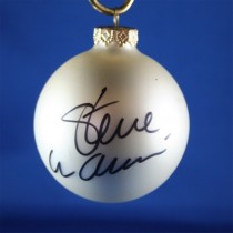 FFF Charities - Steve Wariner - white Christmas ornament #3