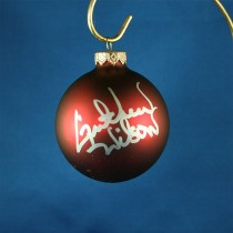 FFF Charities - Gretchen Wilson - red Christmas ornament #4