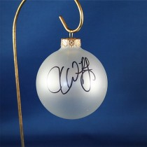 FFF Charities - Jesse Keith Whitley - clear frosted Christmas ornament #3