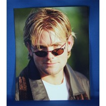 Andy Griggs - 8x10 color photograph leather jacked and shades