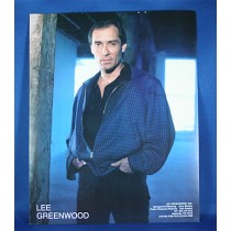 Lee Greenwood - 8x10 color photograph blue jacket
