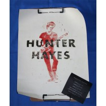 Hunter Hayes - 2013 CMA promo poster