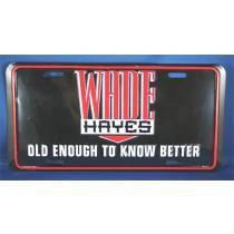 Wade Hayes - metal license plate