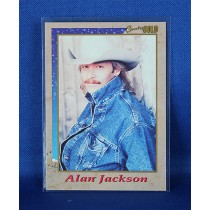 Alan Jackson - promo Country Gold trading card #1