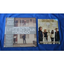 "Little Big Town - LP 2013 CMA promo ""Tornado"" with CMA magazine"