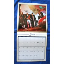 Mavericks - autographed 1994 Country Gold Calendar