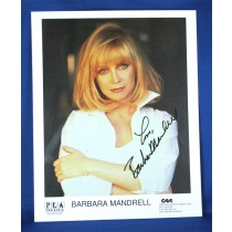 Barbara Mandrell - autographed 8x10 white  shirt arms folded