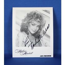 Barbara Mandrell - autographed 3x5 fan club
