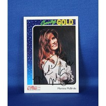Martina McBride - autographed 1992 Country Gold trading card #37