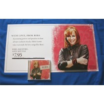 "Reba McEntire - CD ""Love Revival"" with horizontal promotional stand-up"