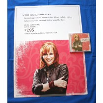 "Reba McEntire - CD ""Love Revival"" with vertical promotional poster"