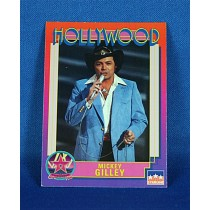 Mickey Gilley - Hollywood Walk of Fame trading card #187