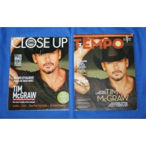 Tim McGraw - ACM Tempo & CMA Close Up magazines