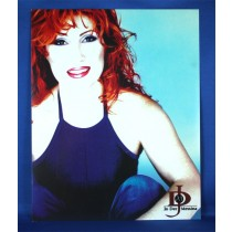 Jo Dee Messina - 8x10 color photograph w/ blue tank top