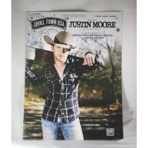 "Justin Moore - sheet music ""Small Town USA"""
