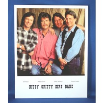 Nitty Gritty Dirt Band - 8x10 color photograph