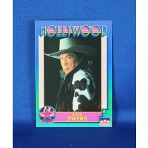 Buck Owens - Hollywood Walk of Fame trading card #151