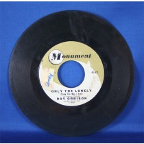 """Roy Orbison - 45 LP """"Only The Lonely"""" & """"Here Comes That Song Again"""""""