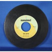 """Roy Orbison - 45 LP """"Mean Woman Blues"""" & """"Blue Bayou"""""""