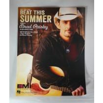 "Brad Paisley - sheet music ""Beat This Summer"""