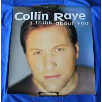 "Collin Raye - promo poster ""I Think About You"""