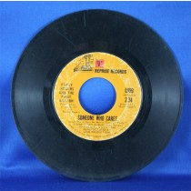 """Kenny Rogers - 45 LP """"Mission of San Nohero"""" and """"Someone Who Cares"""""""