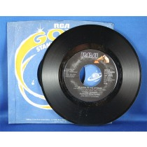 """Kenny Rogers - 45 LP w/ Dolly Parton """"Islands In The Stream"""" & """"I Will Always Love You"""""""