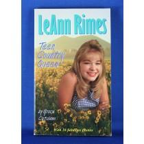 """LeAnn Rimes - book """"LeAnn Rimes Teen Country Queen"""" by Grace Catalano"""