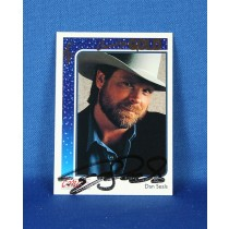 Dan Seals - autographed 1992 Country Gold Trading card gold card #71